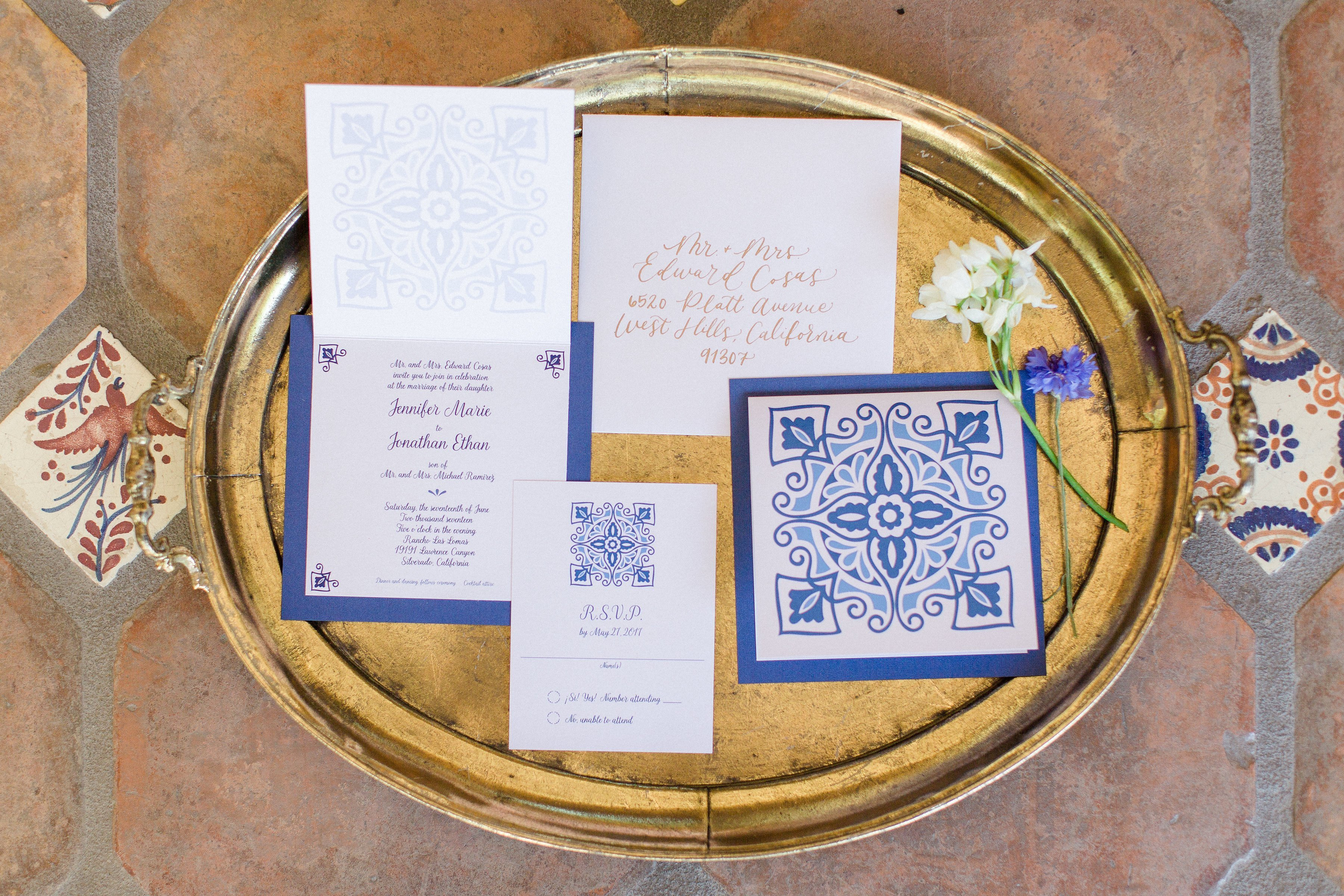 Elegant Spanish Style Wedding Inspiration At Rancho Las Lomas