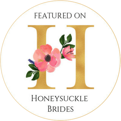 As Featured on Huneysuckle Brides