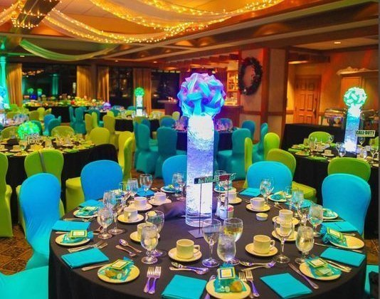 Centerpieces and event design