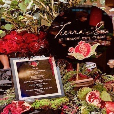 """Signage for restaurant named """"Tierra Sur"""""""