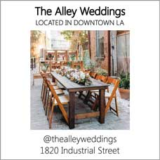 The Alley Weddings LA