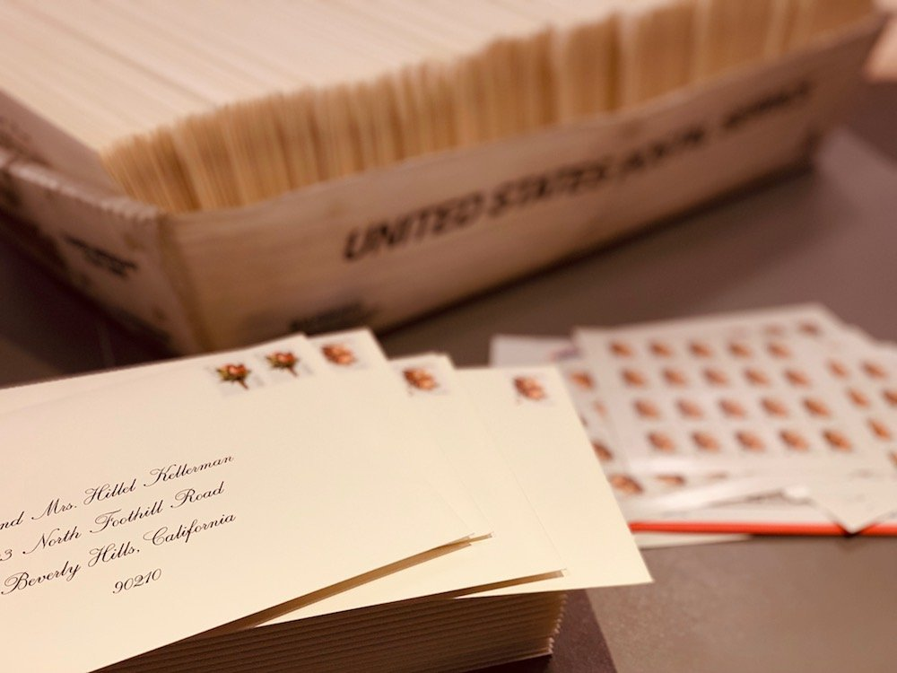 Invitation Stuffing and Mailing Services