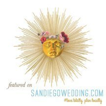 Featured on SanDiegoWedding.com