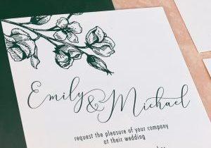 Script Fonts on Invitations_Invitation Maven